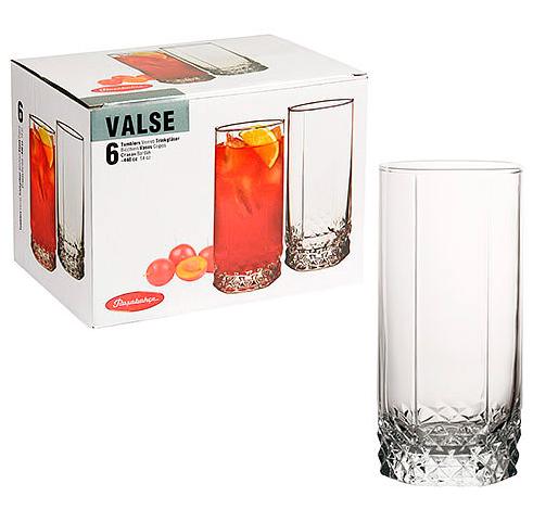 Набор стаканов для коктейля Pasabahce Valse 310ml  6 шт. 42949-6