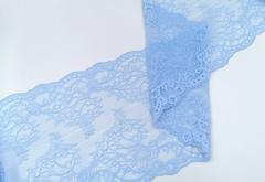 Эластичное кружево, ОПТ, 22 см, голубая мечта, м, (Арт: EK-2291), м