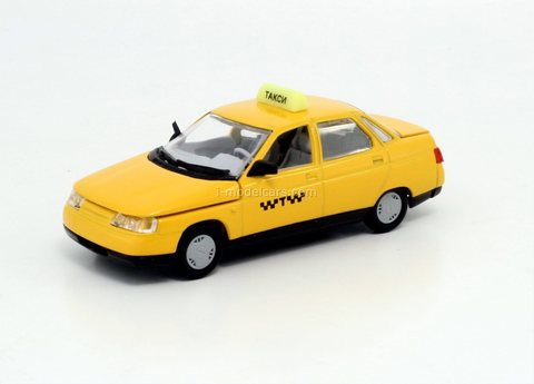 VAZ-2110 Lada 110 Taxi Agat Mossar Tantal 1:43