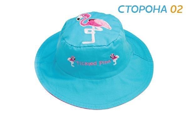 Панама Flapjackkids Дельфин/Фламинго (Dolphin/Flamingo LUV0116M) М (2-4). Арт. 47600