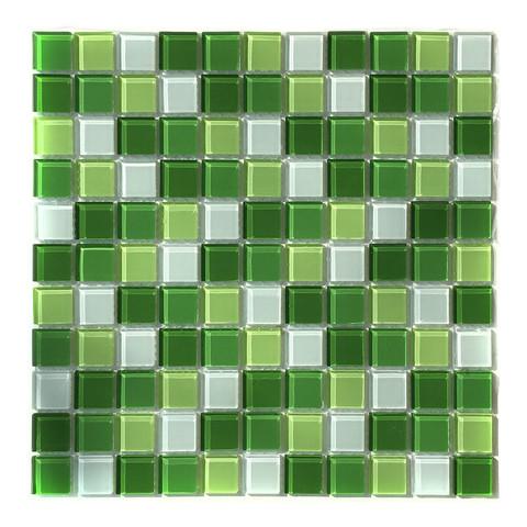 Мозаика стеклянная Aquaviva Сristall Green Light DCM173 / 16905