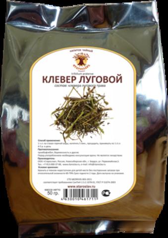 Клевер луговой (трава, 50гр.)  (Старослав)