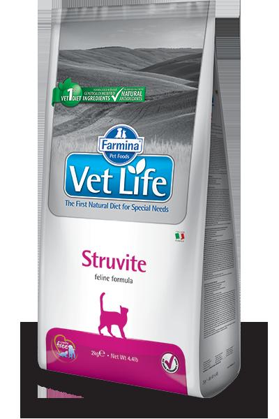 Сухой корм Ветеринарный корм для кошек, FARMINA Vet Life STRUVITE, при струвитах farmina-vet-life-feline-struvite_web.png