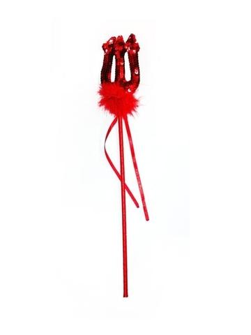 Красный трезубец