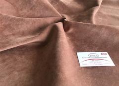 Велюр Акварель 36 коричневый