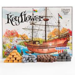 Набор реалистичных ресурсов для игры «Keyflower»