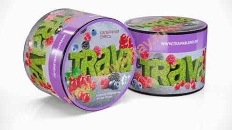 Кальянная смесь Trava - Красная смородина, Лесные ягоды