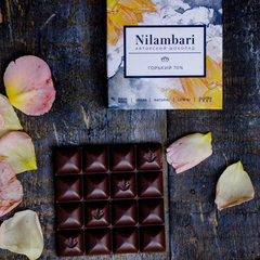 Шоколад Nilambari горький 70% / 65 гр