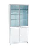 Медицинский шкаф (ШМС-2-А) ШМС-2 в алюминиевой раме