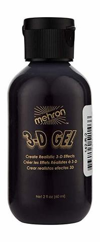 MEHRON 3-D Гель для спецэффектов Makeup 3-D Gel (2 oz), Blood Red - (цвет крови), 60 мл