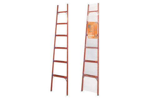 Лестница диэлектрическая ЛД-6, 6 ступеней, высота 2,5 м, до 50 кВ,