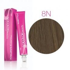 Matrix SOCOLOR.beauty: Neutral 8N светлый блондин натуральный, краска стойкая для волос (перманентная), 90мл