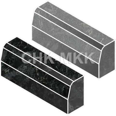 Бордюрный камень из гранита Сопка Бунтина