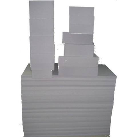 коробка 100cm x 50cm x 50cm с обрезками из меламина