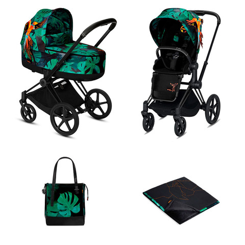 Набор Cybex Priam III FE Birds of Paradise