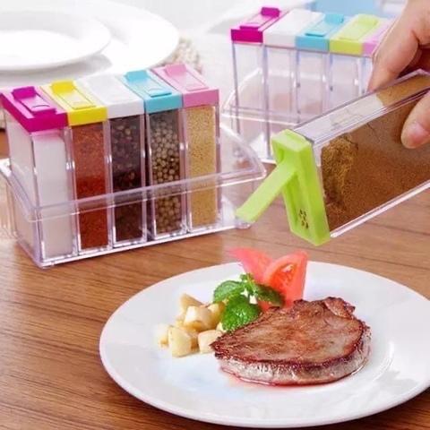Набор для специй и приправ Condiment Set 6 шт
