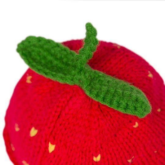 Зайка Ми в вязаной шапке