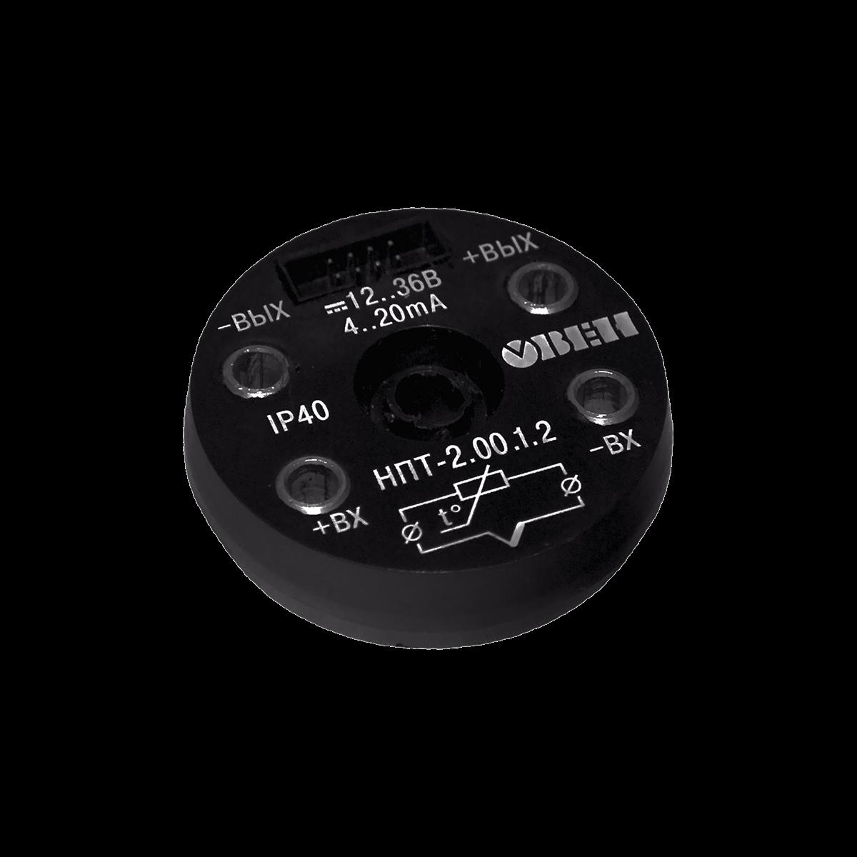 НПТ-2 нормирующий преобразователь для установки в головку датчика