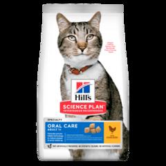 Корм для кошек Hill`s Science Plan Adult Oral Care, гигиена полости рта, с курицей