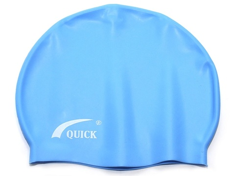 Шапочка для плавания  (Голубой)