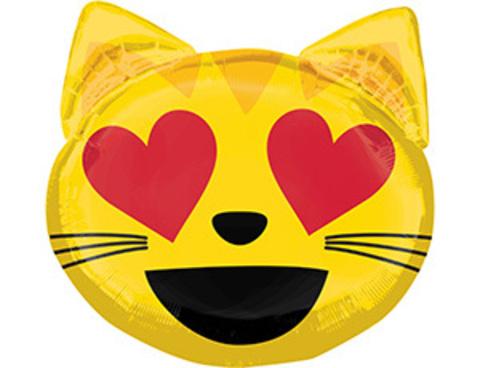 Фольгированный шар Кошка влюбленная