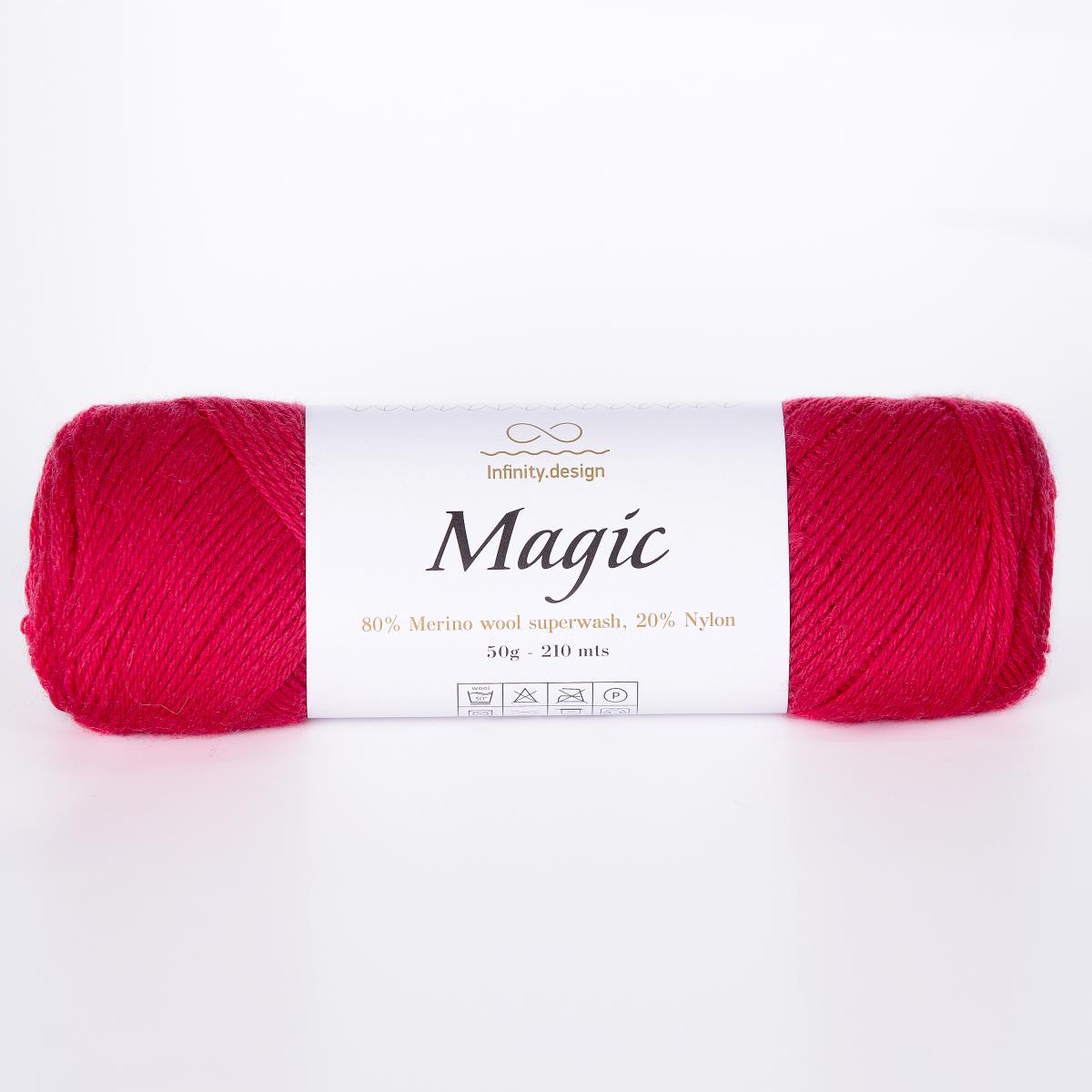Пряжа Infinity Magic 4554 винный