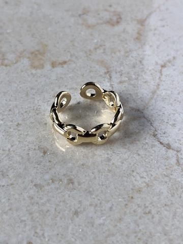 Кольцо Дидри, позолота