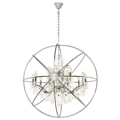 Подвесная люстра Loft it Foucaults orb crystal LOFT1896/15