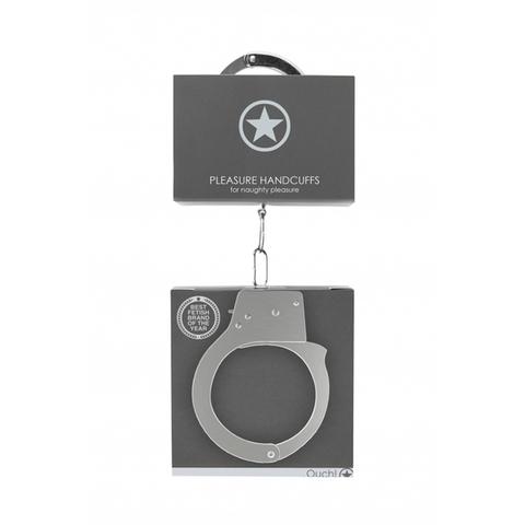 Shots Металлические наручники Pleasure Handcuffs