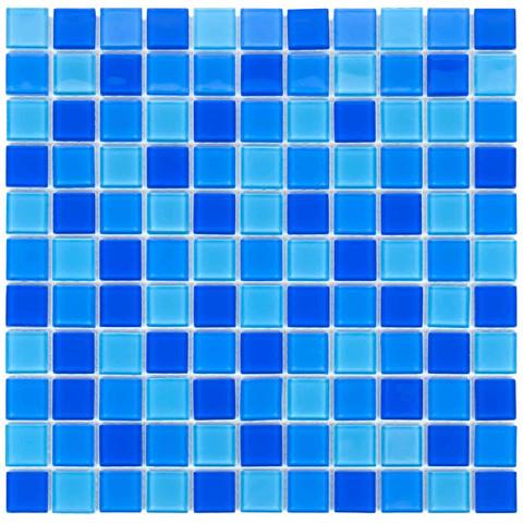 Мозаика стеклянная Aquaviva Сristall Jamaika светлая DCM302 / 17388