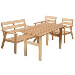 Комплект мебели для сада из дерева Malme