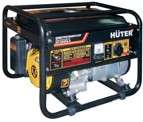 Генератор Huter DY3000LX-электростартер
