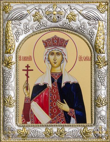 Икона именная Елена Равноапостольская 18x14см