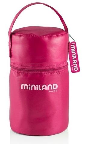 Miniland Pack-2-Go HermifSized, Термосумка, розовая