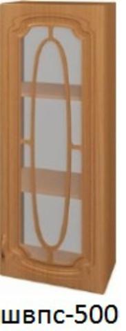 Шкаф верхний пенал со стеклом ШВПС 500