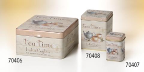 Банка для чайных пакетиков