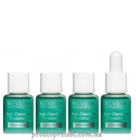 Revlon Professional Interactives Anti Dandruff Treatment - Лечение кожи головы от перхоти