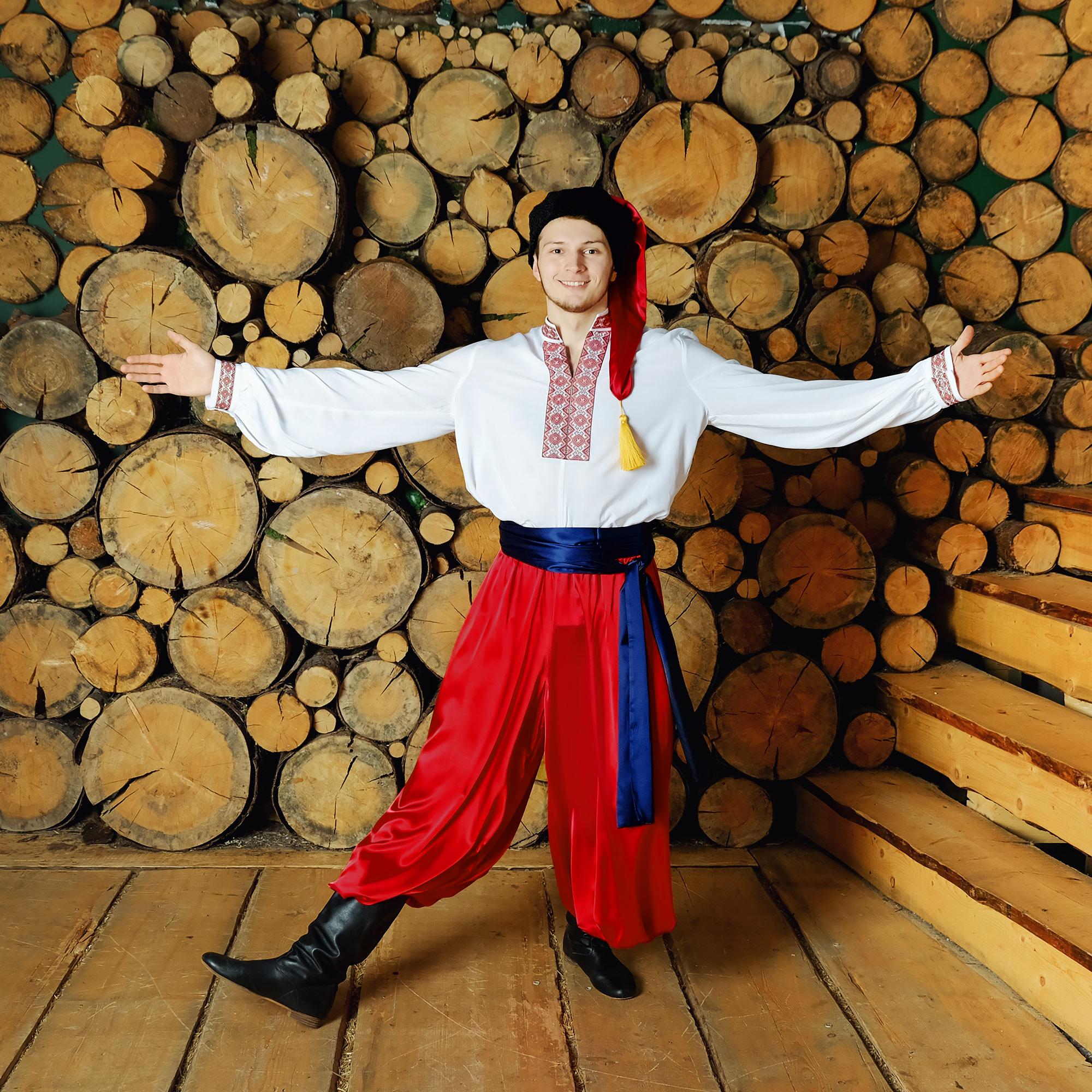 Костюм украинский народный Добрый молодец плясовой