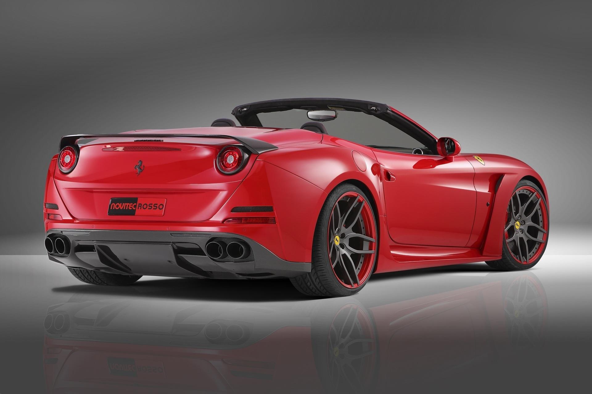 Карбоновое антикрыло на багажник Novitec Style для Ferrari California