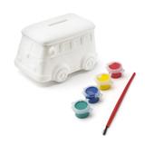 Копилка-раскраска Автобус
