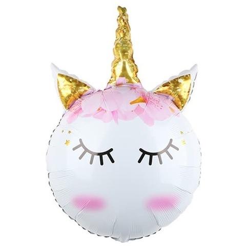 Воздушный шар Сказочный единорог, Голова, 81 см