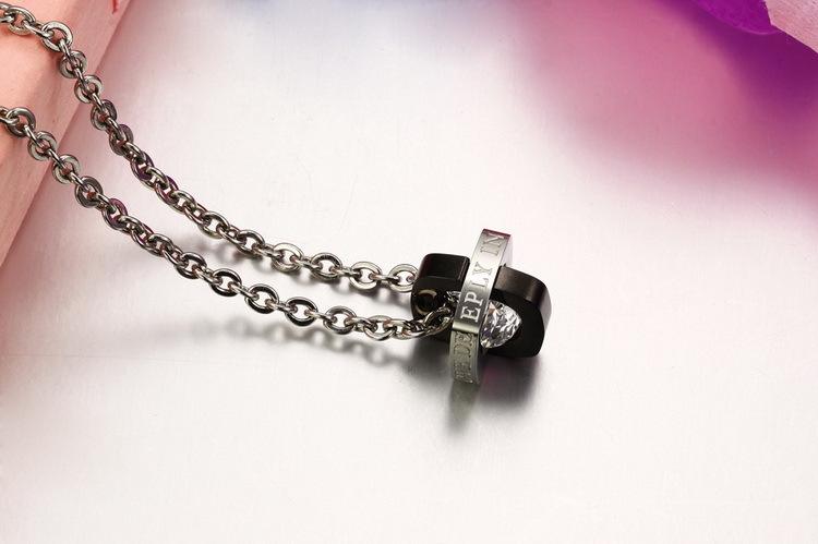 Кулоны парные с цепочками Steelman pa012