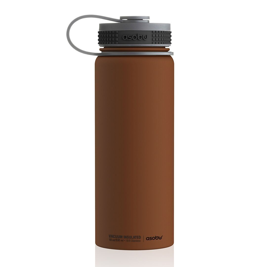 Термос Asobu Alpine flask (0,53 литра), шоколадный