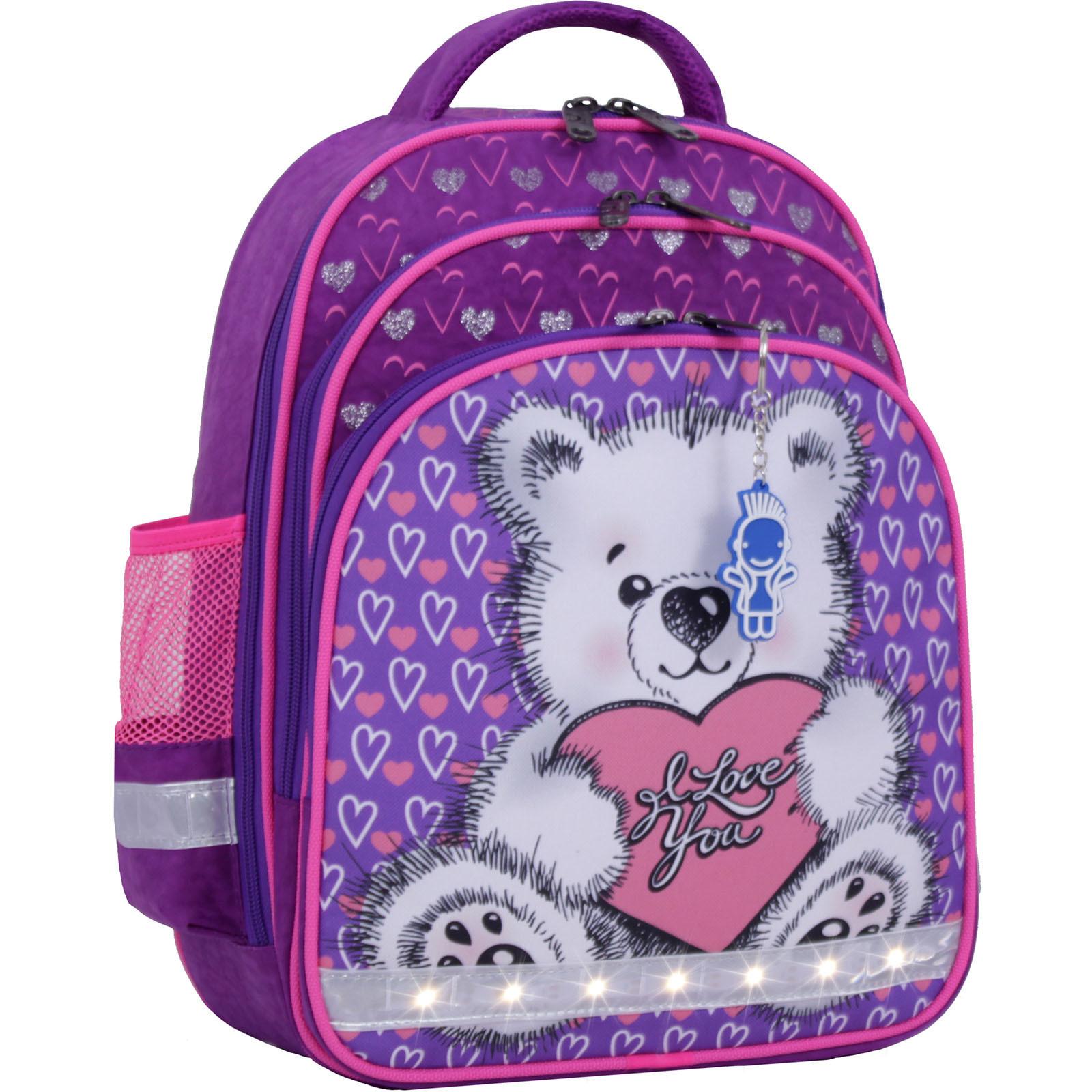 Школьные рюкзаки Рюкзак школьный Bagland Mouse 339 фиолетовый 337 (0051370) IMG_1155.JPG