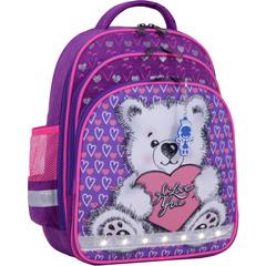 Рюкзак школьный Bagland Mouse 339 фиолетовый 337 (0051370)