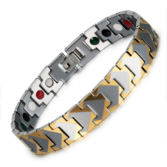 Вольфрамовый магнитный браслет