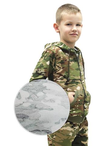 Толстовка Детская BVR-Sport Футер Мультикам (Хлопок)