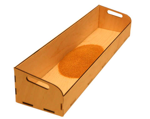 Контейнер для песка (без отсеков)