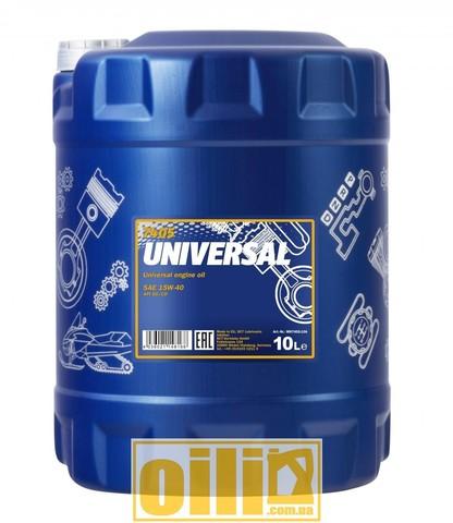 Mannol 7405 UNIVERSAL 15W-40 10л