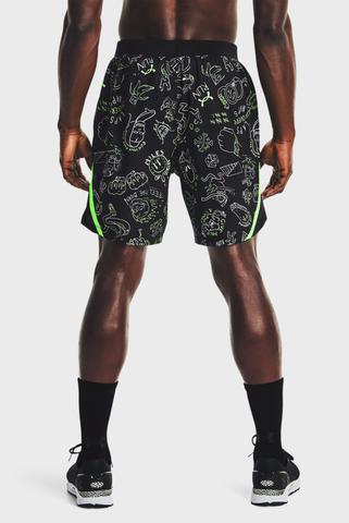 Мужские черные шорты UA Run Ur Face Off Short-BLK Under Armour